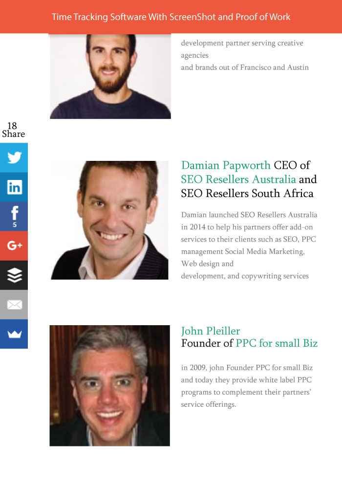 SEO Resellers Australia CEO Chosen To Share Insights For Hubstaff